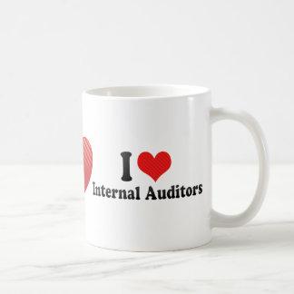 I Love Internal Auditors Coffee Mug
