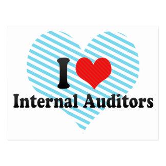 I Love Internal Auditors Postcards