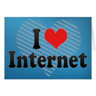 I Love Internet Card