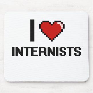 I love Internists Mouse Pad