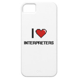 I love Interpreters iPhone 5 Cases