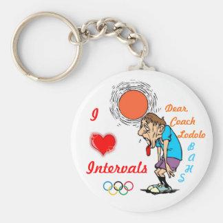 I love Intervals Keychain