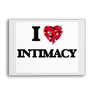 I Love Intimacy Envelope