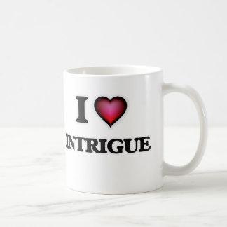 I Love Intrigue Coffee Mug