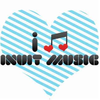 I Love Inuit Music Photo Cutout
