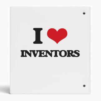 I love Inventors Vinyl Binders