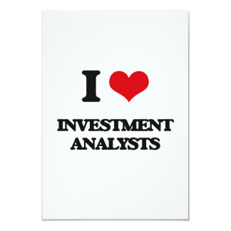 I love Investment Analysts Personalized Announcements