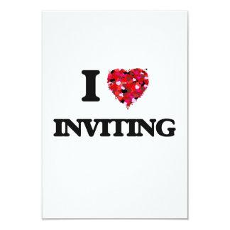 I Love Inviting 3.5x5 Paper Invitation Card