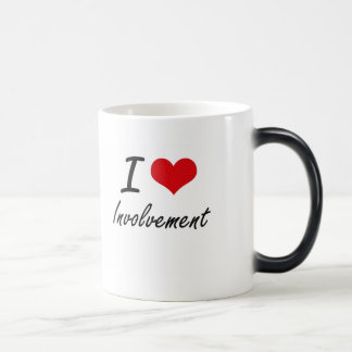 I Love Involvement 11 Oz Magic Heat Color-Changing Coffee Mug