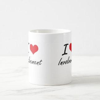 I Love Involvement Classic White Coffee Mug