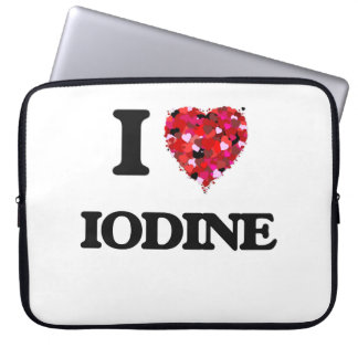 I Love Iodine Computer Sleeves