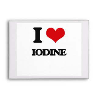 I Love Iodine Envelope
