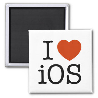I love iOS - magnet