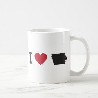 I Love Iowa Classic White Coffee Mug