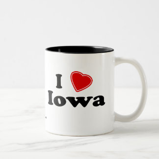 I Love Iowa Coffee Mug