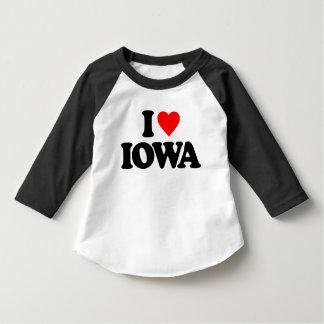 I LOVE IOWA T SHIRT