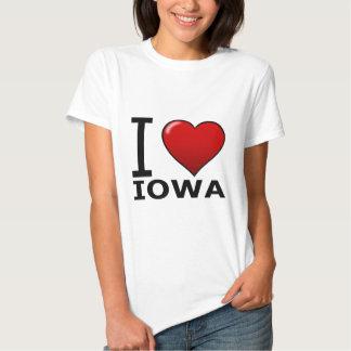 I LOVE IOWA T-SHIRTS
