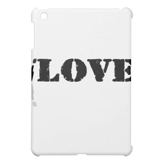 I Love iPad Mini Case