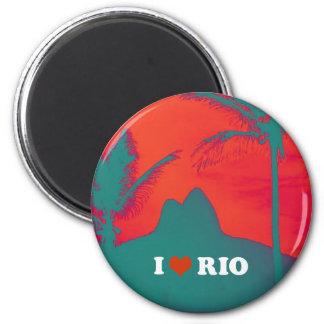 I Love Ipanema 2 Inch Round Magnet