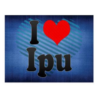 I Love Ipu, Brazil Post Cards