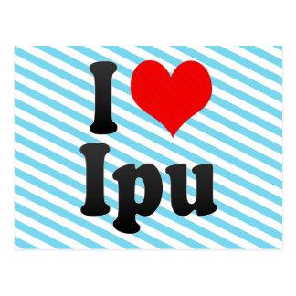 I Love Ipu, Brazil Postcards