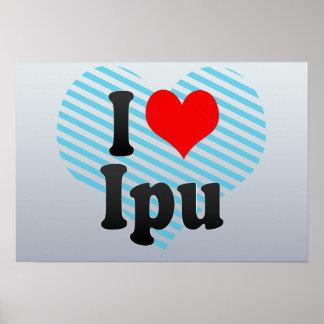 I Love Ipu, Brazil Print