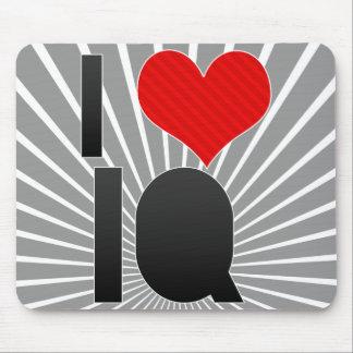 I Love IQ Mouse Pad