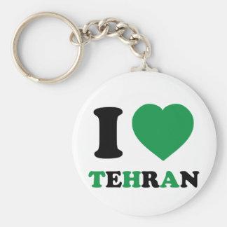 I Love Iran Basic Round Button Keychain