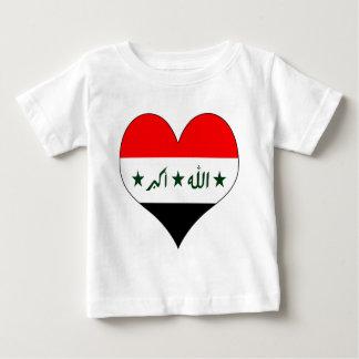 I Love Iraq Baby T-Shirt