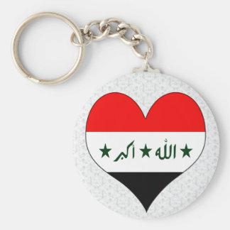 I Love Iraq Basic Round Button Keychain