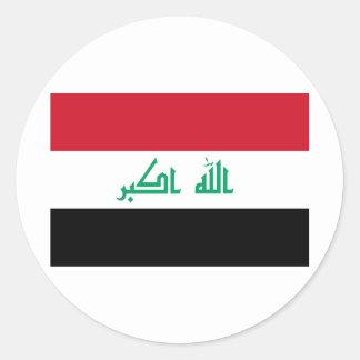 I Love Iraq Classic Round Sticker