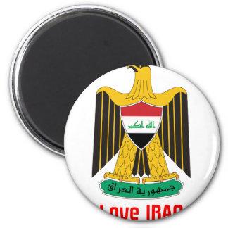 i love IRAQ-design 1from 933958store Fridge Magnets