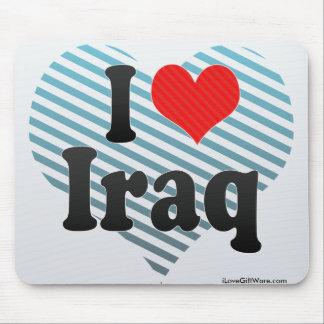 I Love Iraq Mouse Pad