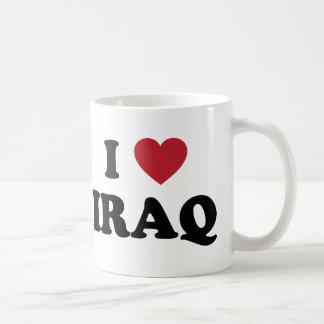I Love Iraq Classic White Coffee Mug