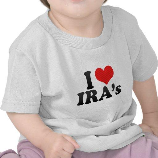 I Love IRA's Tee Shirt
