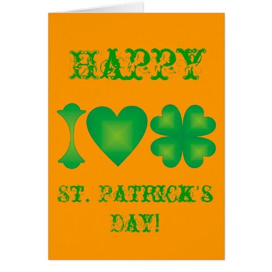 I Love Ireland Card