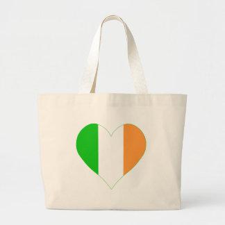 I love Ireland Heart Bags