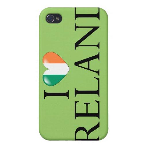 """I love Ireland"" iPhone 4 case"