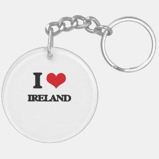 I Love Ireland Acrylic Key Chain