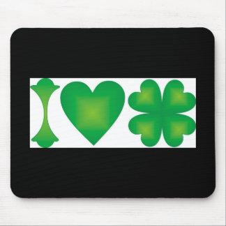 I Love Ireland Mouse Pad