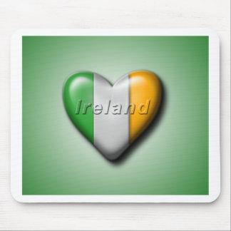 I Love Ireland Mousepad