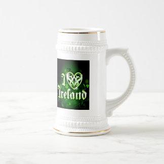 I love Ireland 18 Oz Beer Stein