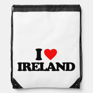 I LOVE IRELAND BACKPACKS