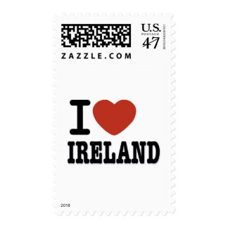 I LOVE IRELAND POSTAGE