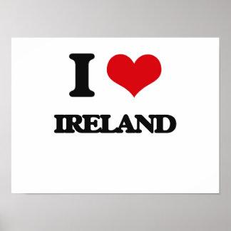 I Love Ireland Poster