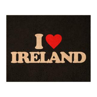I LOVE IRELAND CORK PAPER PRINTS
