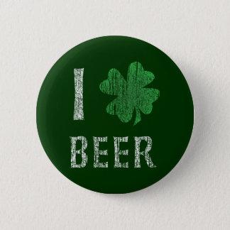 I Love Irish Beer Pinback Button