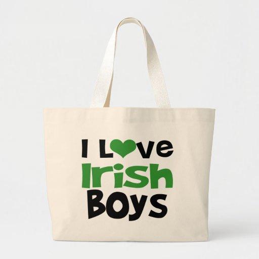 I love Irish Boys Canvas Bag