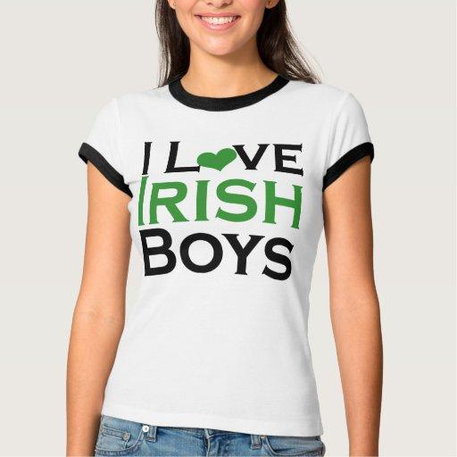 I Love Irish Boys Shirt I love Irish Boys cute...