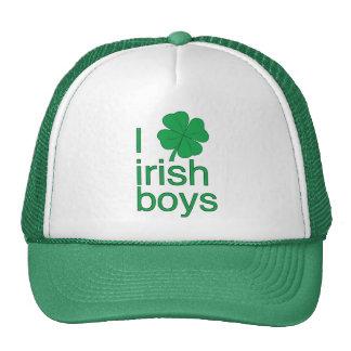 I Love Irish Boys Hat